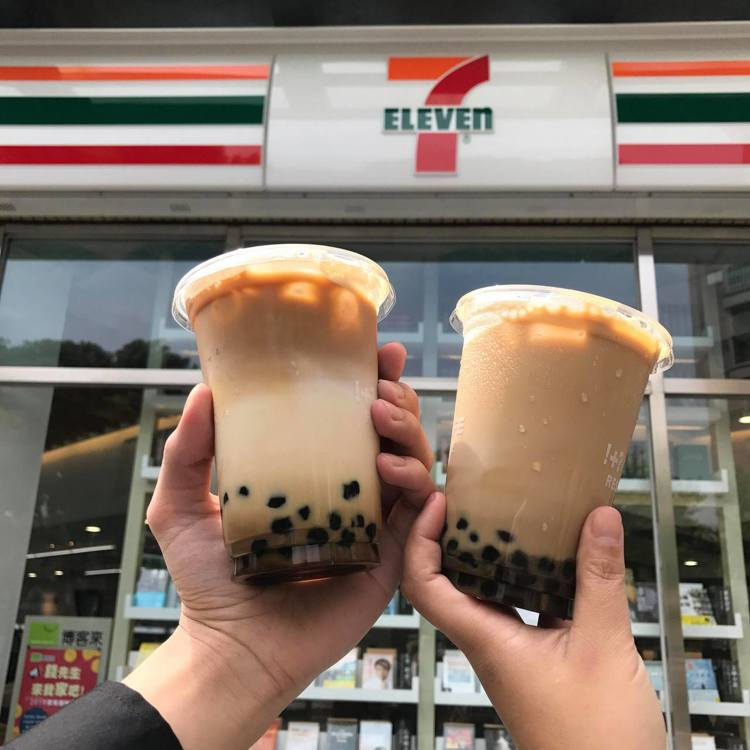7-ELEVEN CITY CAFE「咖啡珍珠歐蕾」以黑糖珍珠撞奶加入2份Esp...