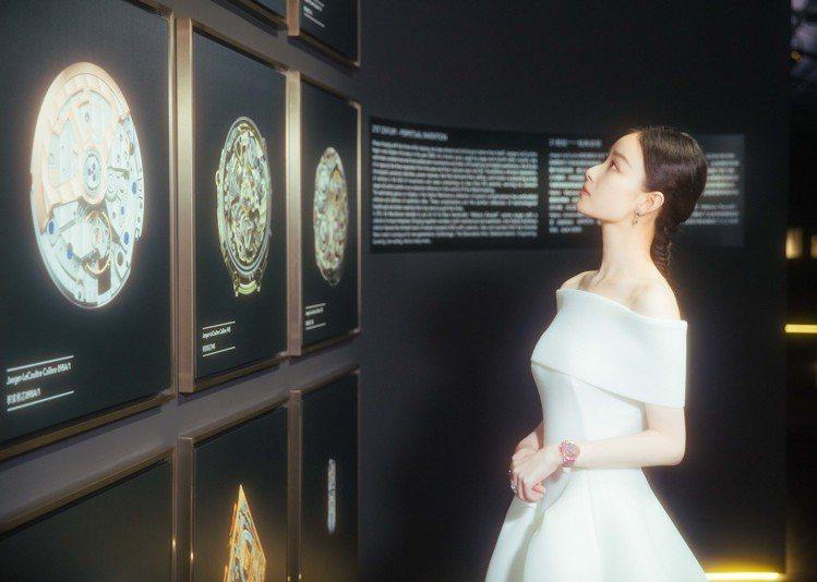 倪妮配戴積家腕表出席上海電影節活動。圖/積家提供