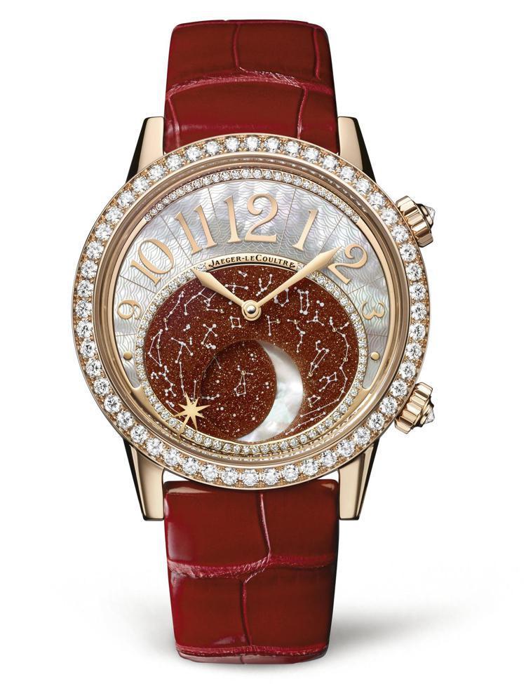 Rendez-Vous Moon約會系列月相腕表,164萬元。圖/積家提供