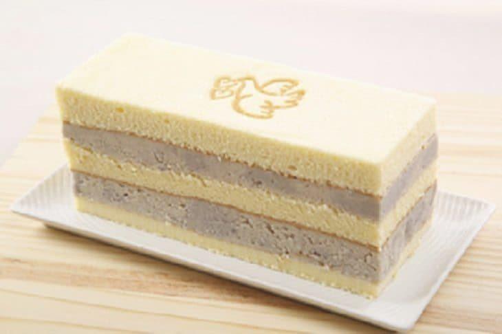 芋頭蛋糕內餡豐厚。圖/連珍糕餅店提供