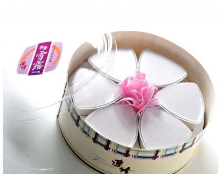 芋香雪露是招牌甜點。圖/連珍糕餅店提供