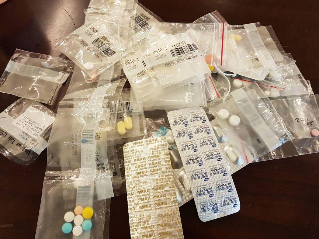 有些民眾習慣囤積藥品,用藥習慣不佳,可能誤吃他人的藥。圖/衛福部台中醫院提供