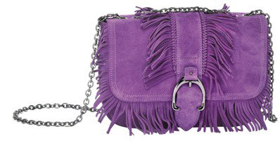 Amazone Folk紫羅蘭色荷篷包(小),售價28,600元。圖/LONGC...
