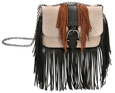 Amazone Color Block粉膚色荷篷包(小),售價33,500元。圖...