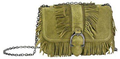 Amazone Folk卡其色荷篷包(小),售價28,600元。圖/LONGCH...