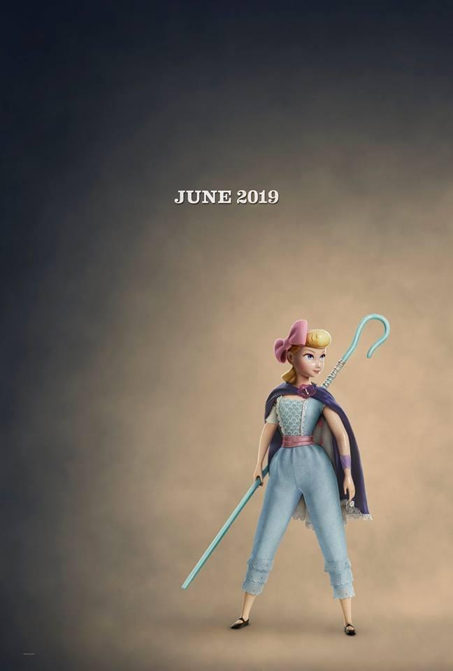 牧羊女造型大改變。圖/摘自「Toy Story」臉書