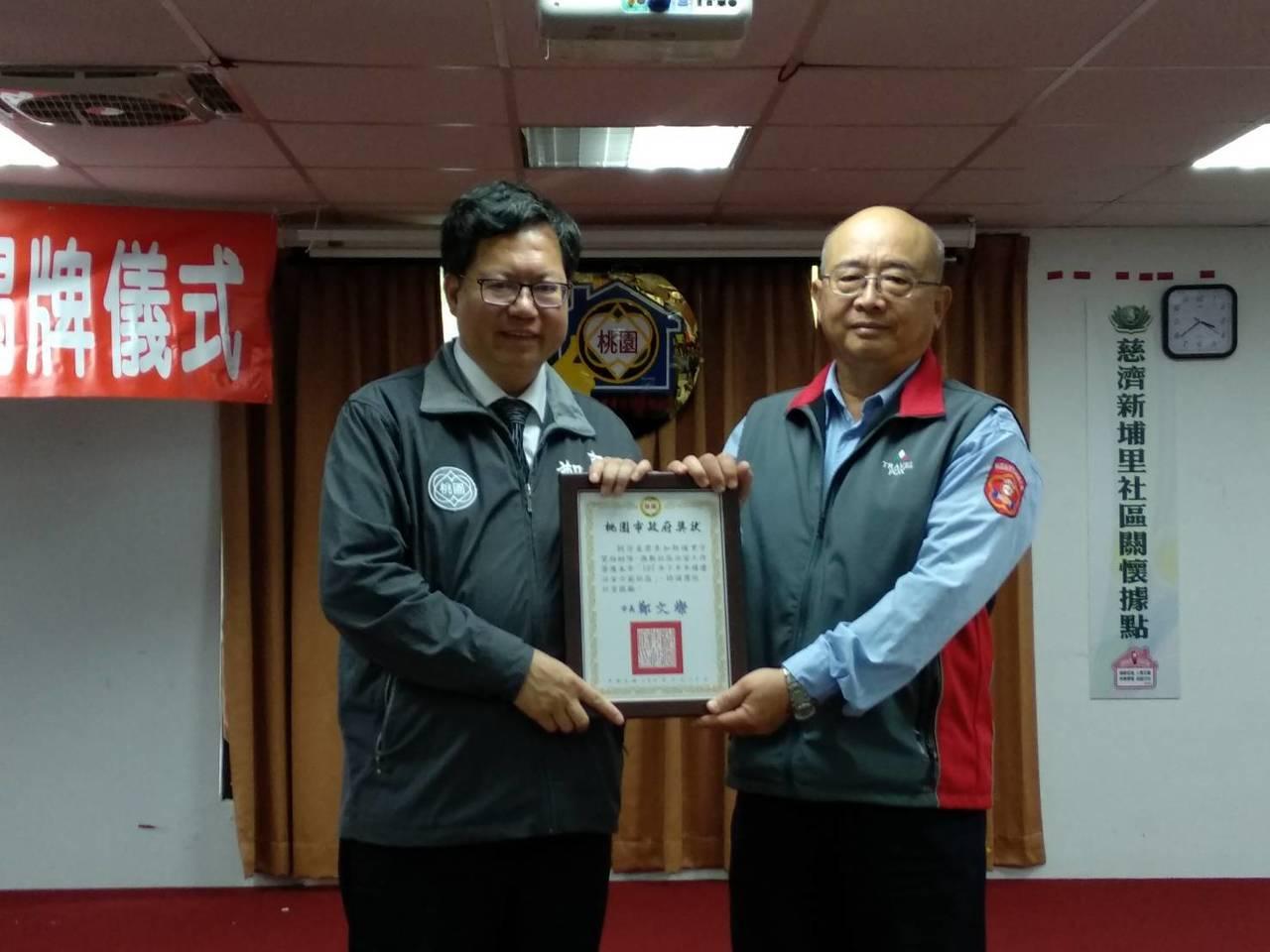 曾擔任南亞公司主管的新埔里巡守隊員劉登基表示,5年前投入巡守隊行列,有次巡邏學校...