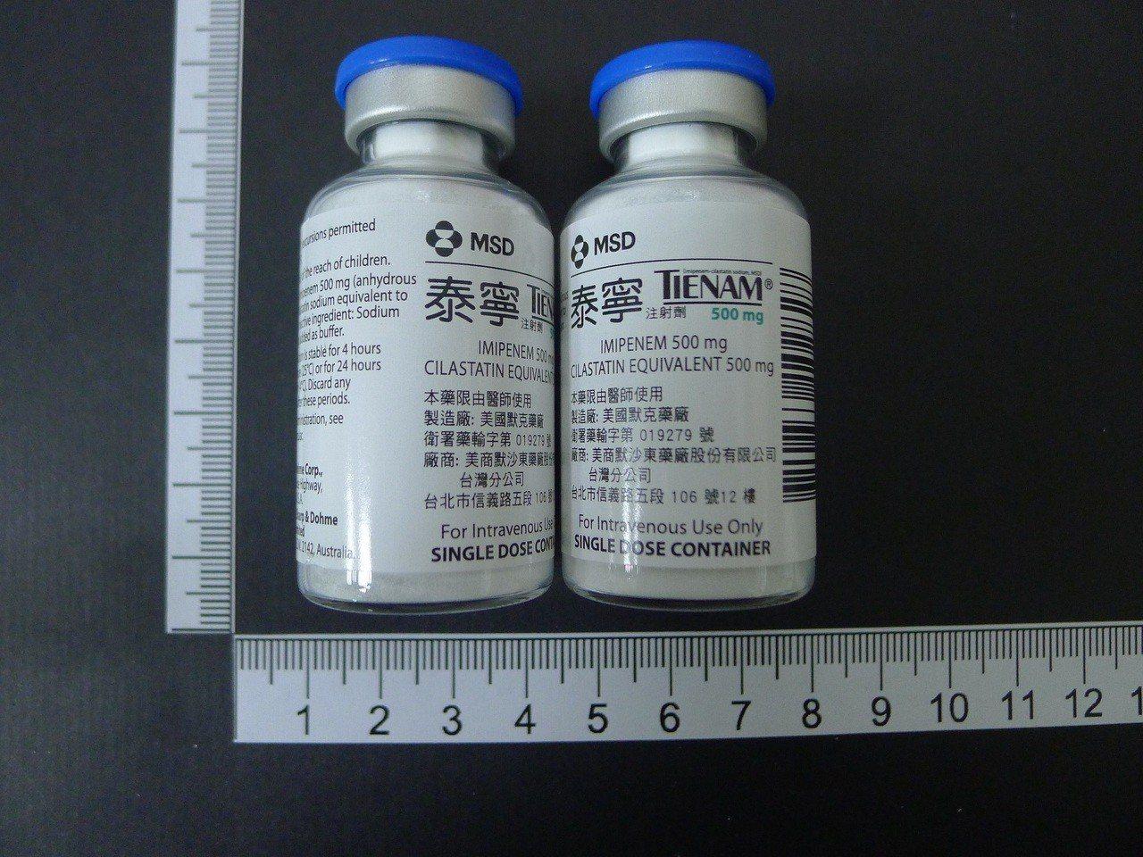 革蘭氏陰性菌最後一線用藥 泰寧4月起供貨至合約期滿