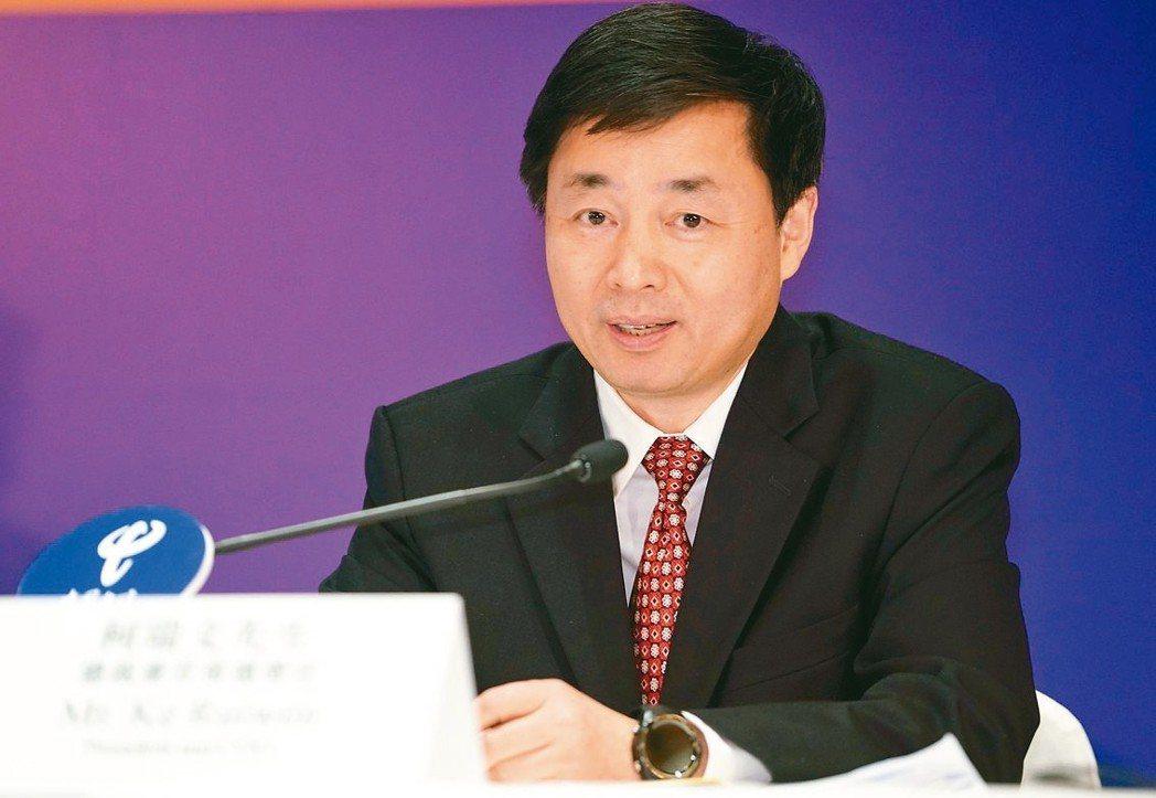 中國電信總裁兼首席運營官柯瑞文