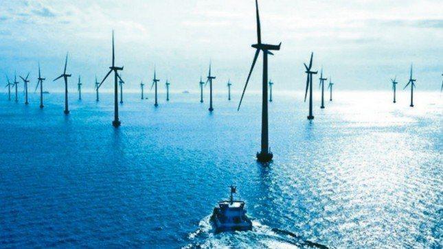 風力發電。 報系資料照