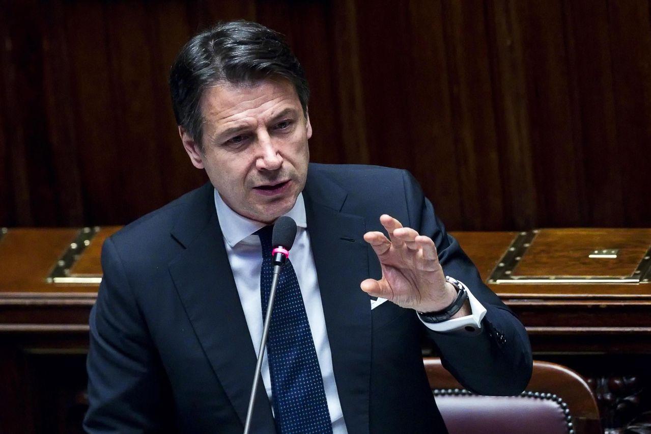 儘管美國反對,義大利仍堅持要和中國簽署參與「一帶一路」倡議的備忘錄。圖為義大利總...