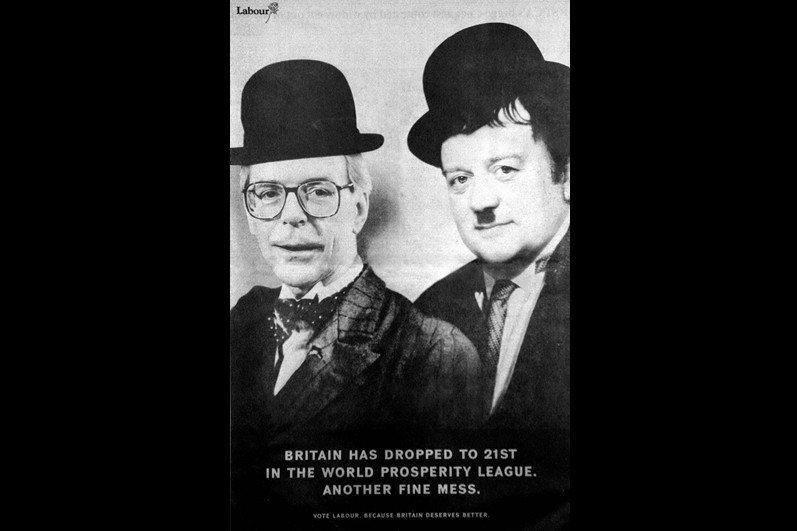 勞萊與哈台(Laurel and Hardy)。 圖/美聯社