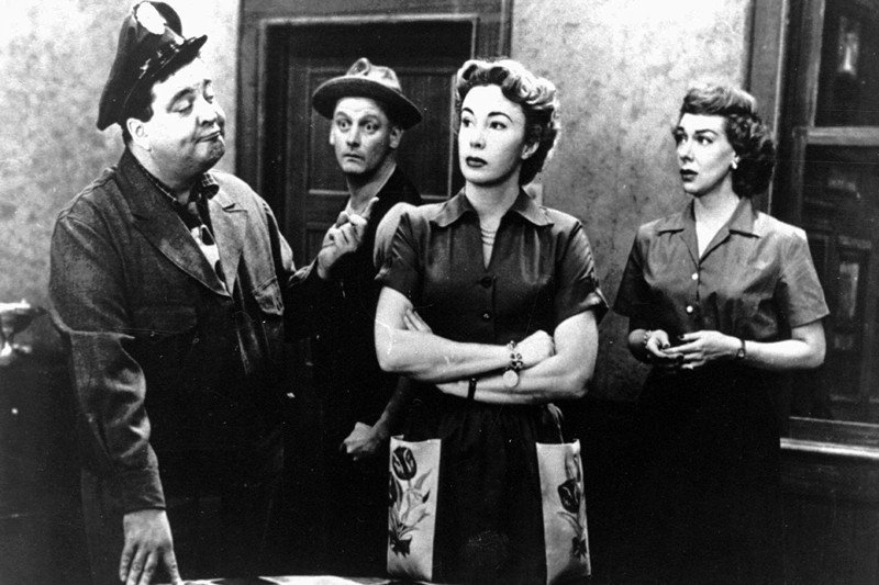 《The Honeymooners》(1955)劇照。 圖/美聯社