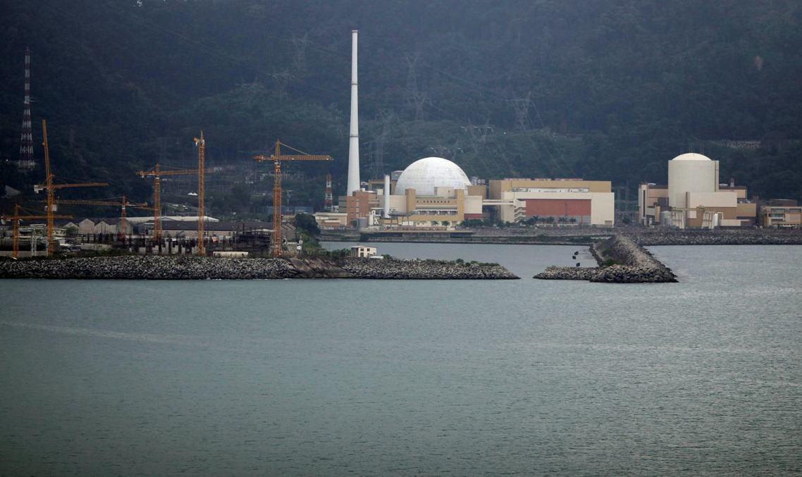 巴西唯一一座、位於里約熱內盧州沿海的「安格拉核能發電廠」(Angra),19日傳...