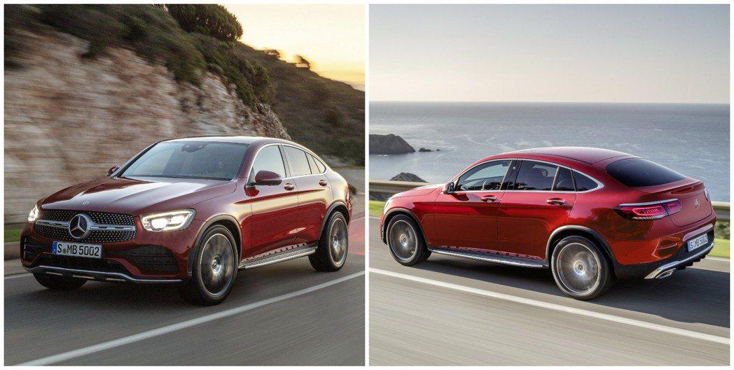 小改款Mercedes-Benz GLC Coupe的外觀上並沒有太多的變化。 ...