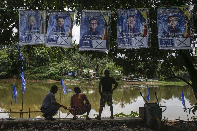 圖為大選前東馬砂拉越州一景。 圖/歐新社