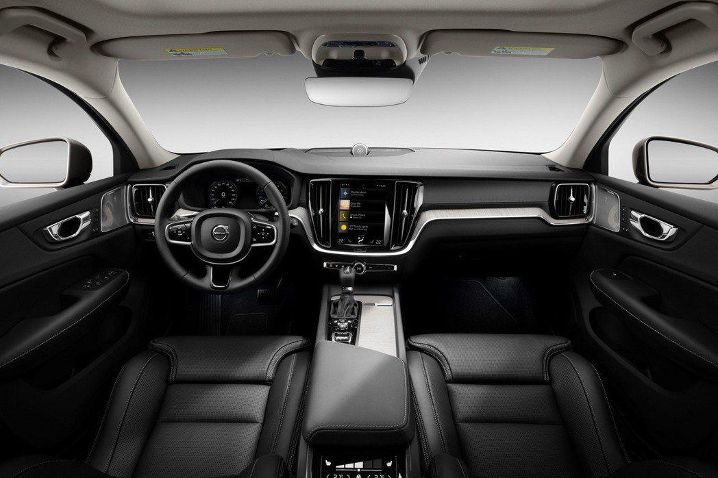第二代Volvo V60 內裝。 摘自Volvo