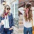 必備時尚單品!5 個創意「絲巾搭配」提案