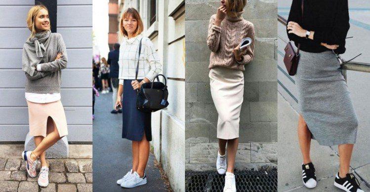 搭上裙子,減齡的效果更為顯著,尤其是小清新、文青風或學院風的整體穿搭。圖/ pi...