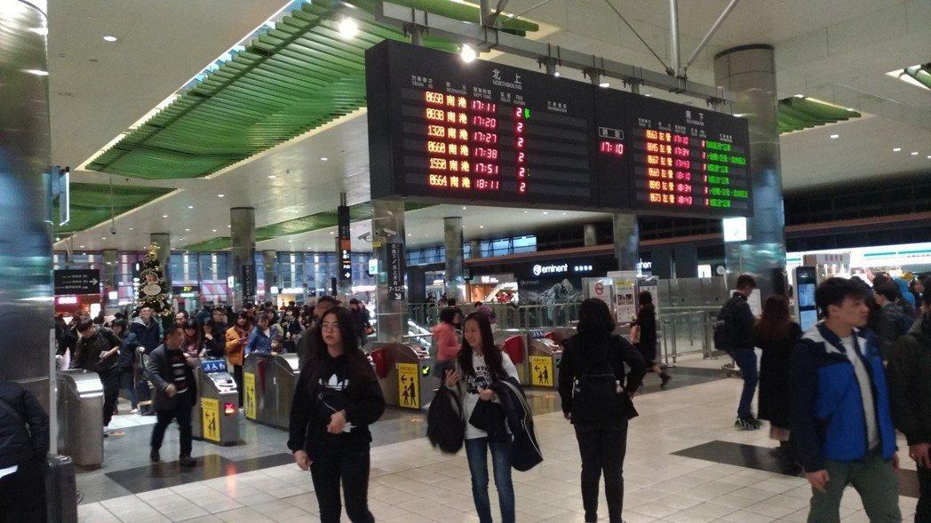 圖/台灣高鐵桃園站提供