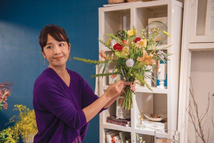 花好きの人が花束を活用して自由に室内を装飾してほしい という思いでお店をオー...
