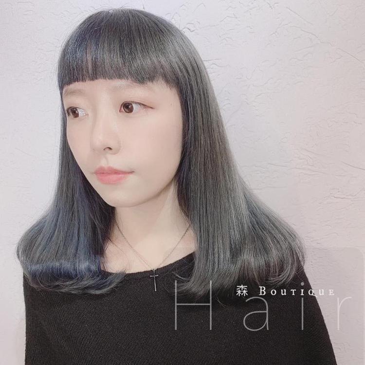 髮型創作/森 Hair Boutique 板橋四川店 / 愛紗。圖/StyleM...