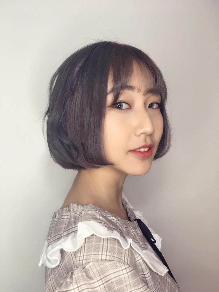 髮型創作/EA hair salon / ASh。圖/StyleMap提供