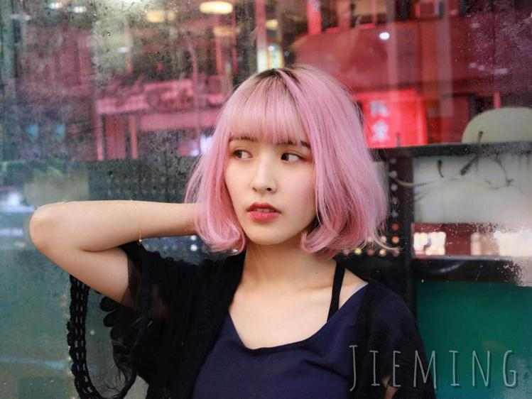 髮型創作/尚洋髮藝士林分店 / Jieming(傑茗)。圖/StyleMap提供