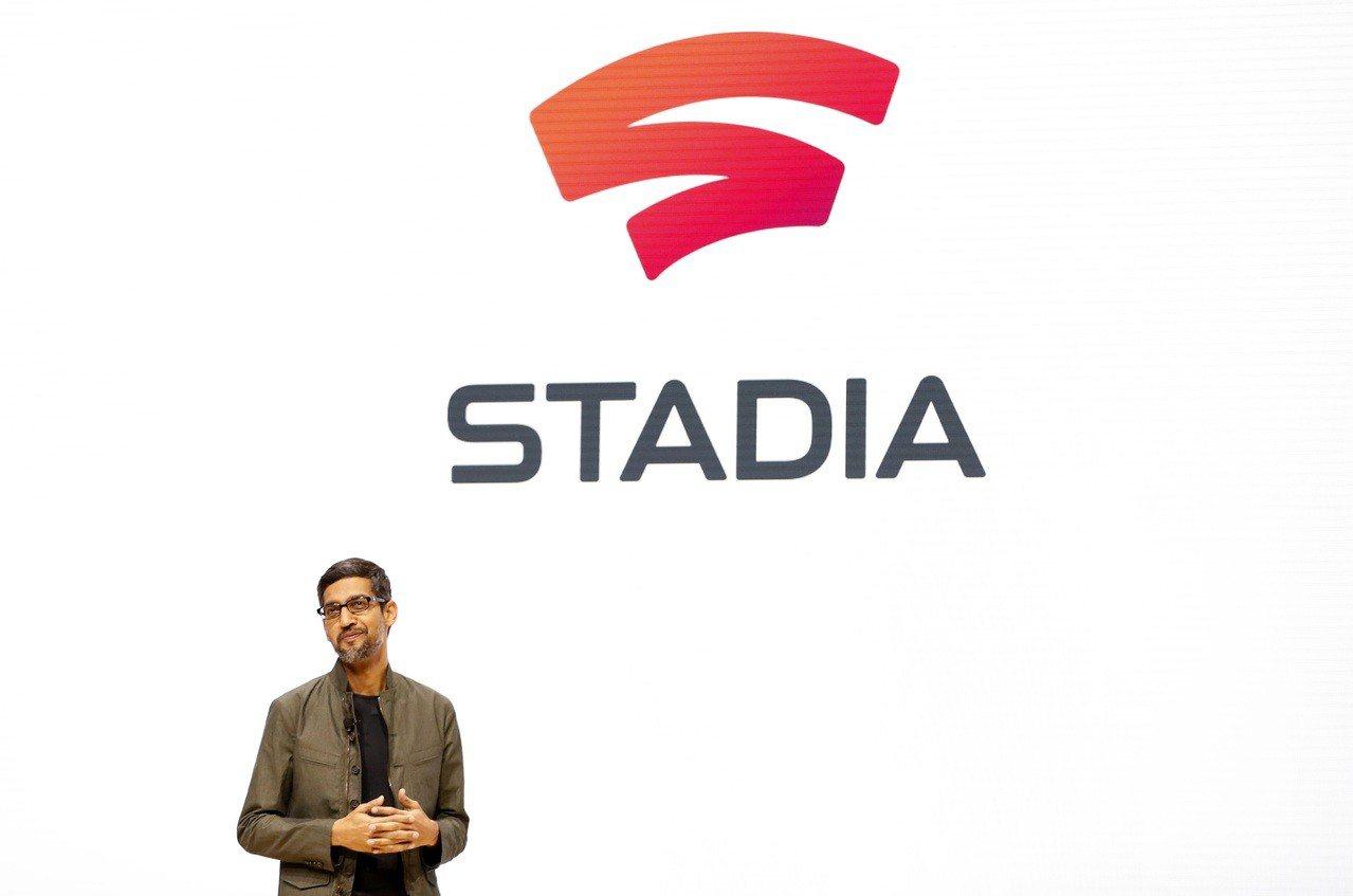 Google執行長皮伽(Sundar Pichai)在串流服務Stadia發布會...