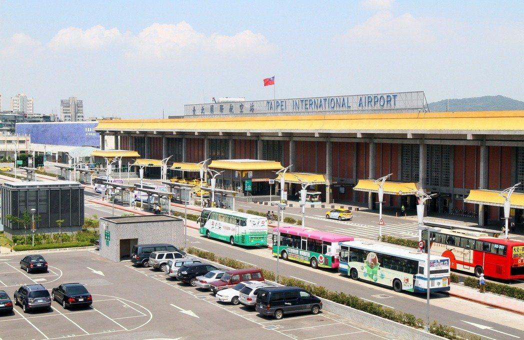 松山機場。本報資料照片