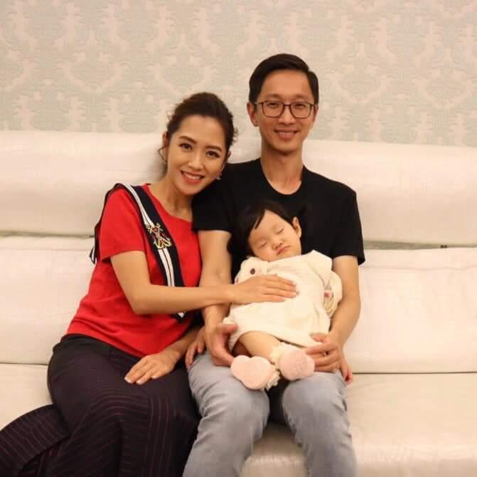 楊千霈和老公育有女兒娃寶。圖/摘自臉書