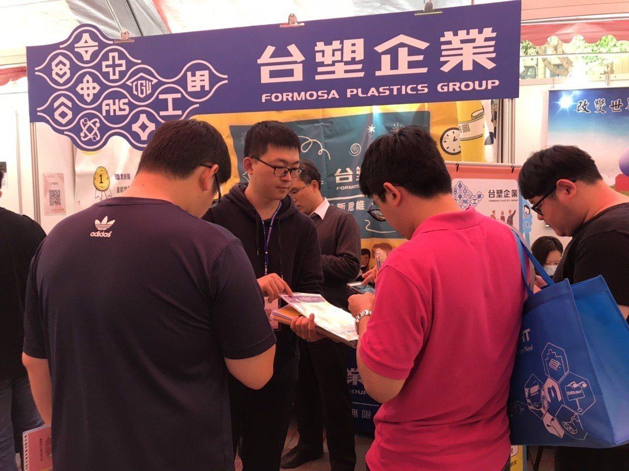 台北科技大學今天舉辦108年校園企業徵才博覽會,今年北科首度與1111人力銀行合...