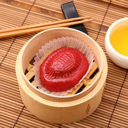金山富品家一小口紅龜米果子,6入售價125元。圖/ihergo愛合購提供