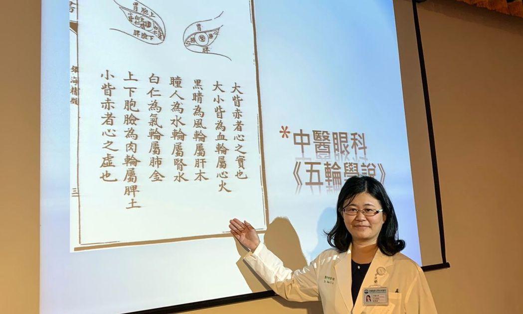 醫師陳瑩陵說,預防視力減退、乾眼症、黃斑部病變等,中醫眼科透用傳統中藥、針灸、穴...