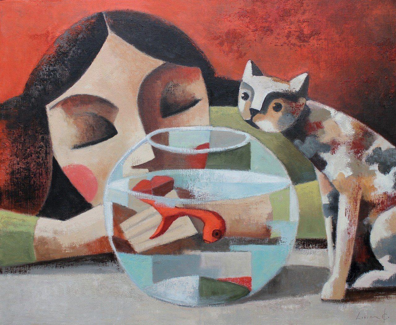 Didier Lourenço / Mientras duermes 油畫 ...
