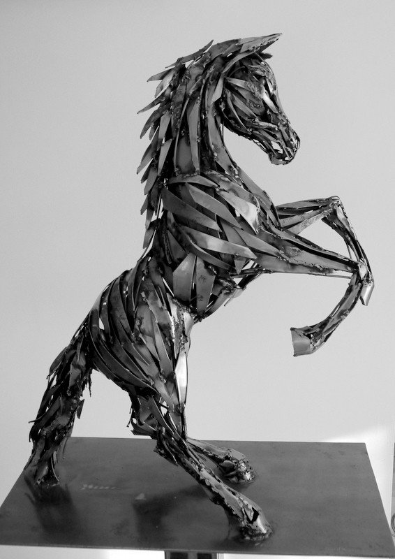 Pascal Bejeannin / Readed-up-horse 不鏽鋼...