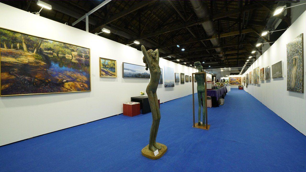 2019台北新藝術博覽會預展於3月20日至4月3日在松山文創區二號倉舉辦。圖/台...
