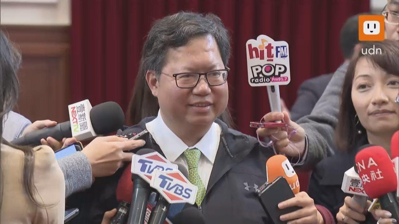 桃園市長鄭文燦接受媒體專訪時表示,他判斷韓國瑜不會選總統。本報資料照片/記者莊昭...