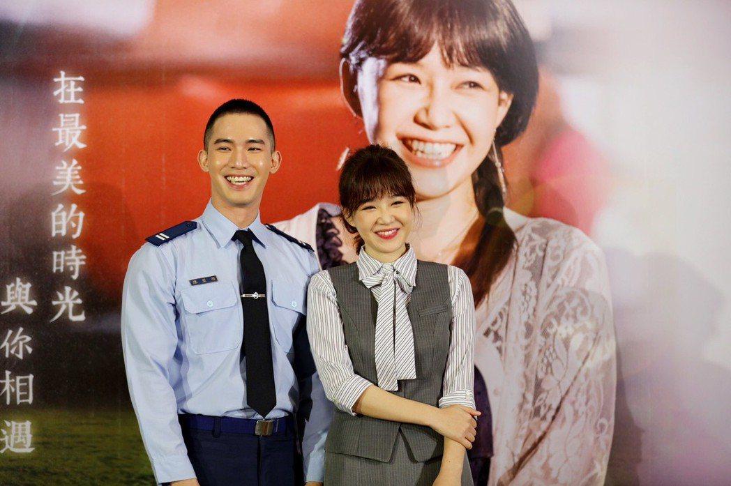 楊鎮(左)與李佳豫在大愛新戲中配對。圖/大愛台提供