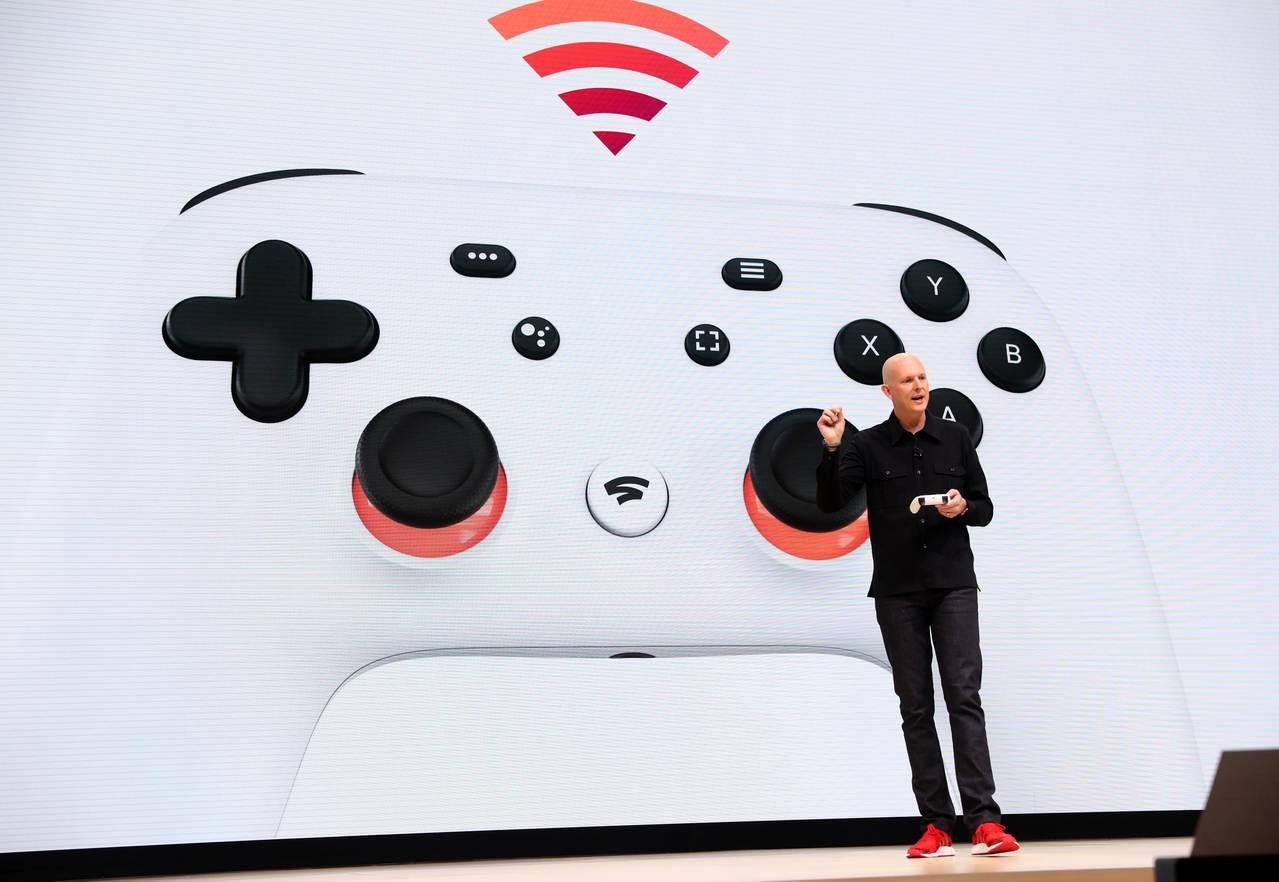 谷歌副總裁哈里森19日在美國加州舊金山舉行的遊戲開發者大會(Game Devel...