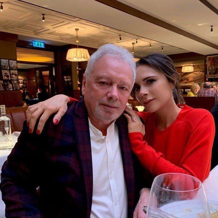 維多莉亞和爸爸感情很好。圖/摘自IG