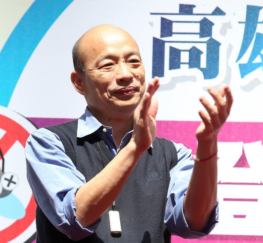 高雄市長韓國瑜。 本報系資料照/記者劉學聖攝影