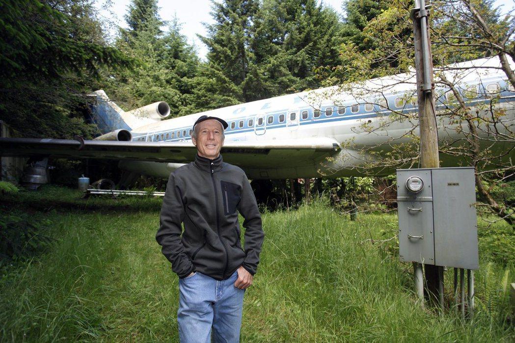 波音727客機已停產,美國奧勒岡州一名飛機迷買下舊飛機後改裝成住家。 (路透)