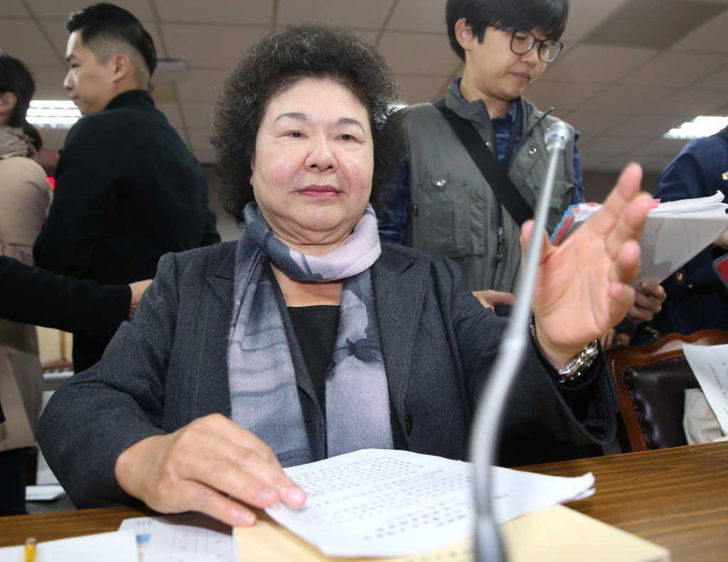 總統府秘書長陳菊。 本報系資料照/記者高彬原攝影