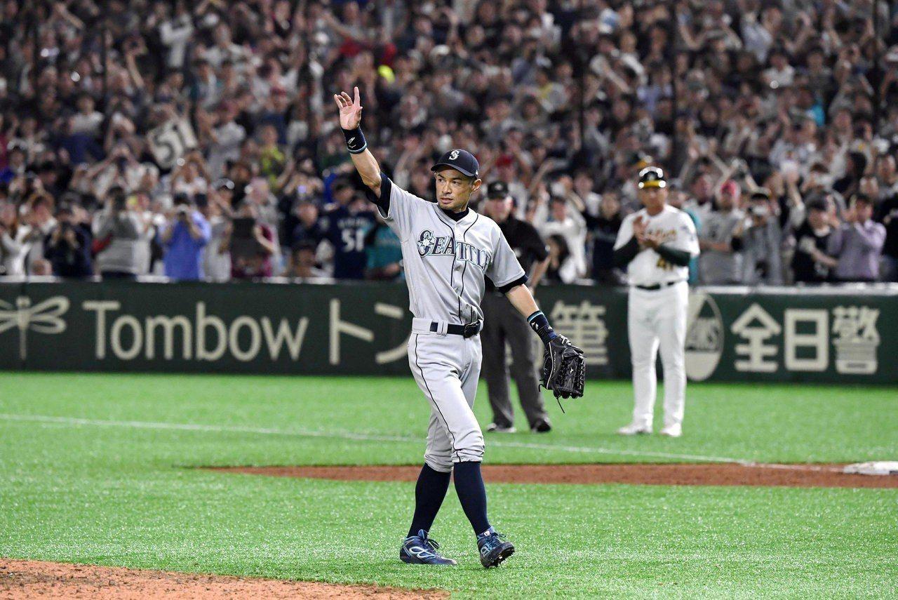 MLB/穿球衣迎接這一天 鈴木一朗:真的很幸福