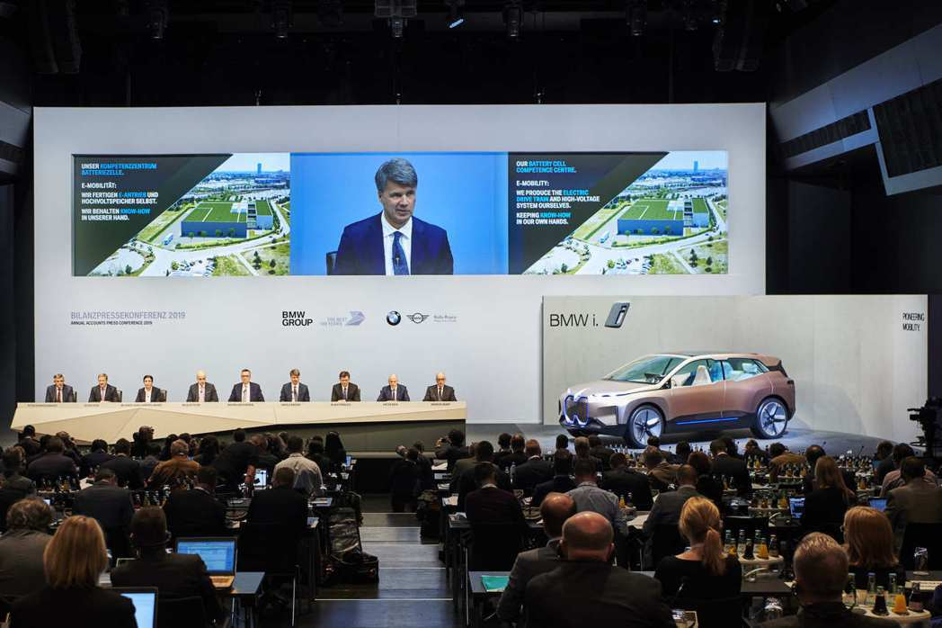 BMW在集團大會上宣布今年獲利預估減少10%。 摘自BMW