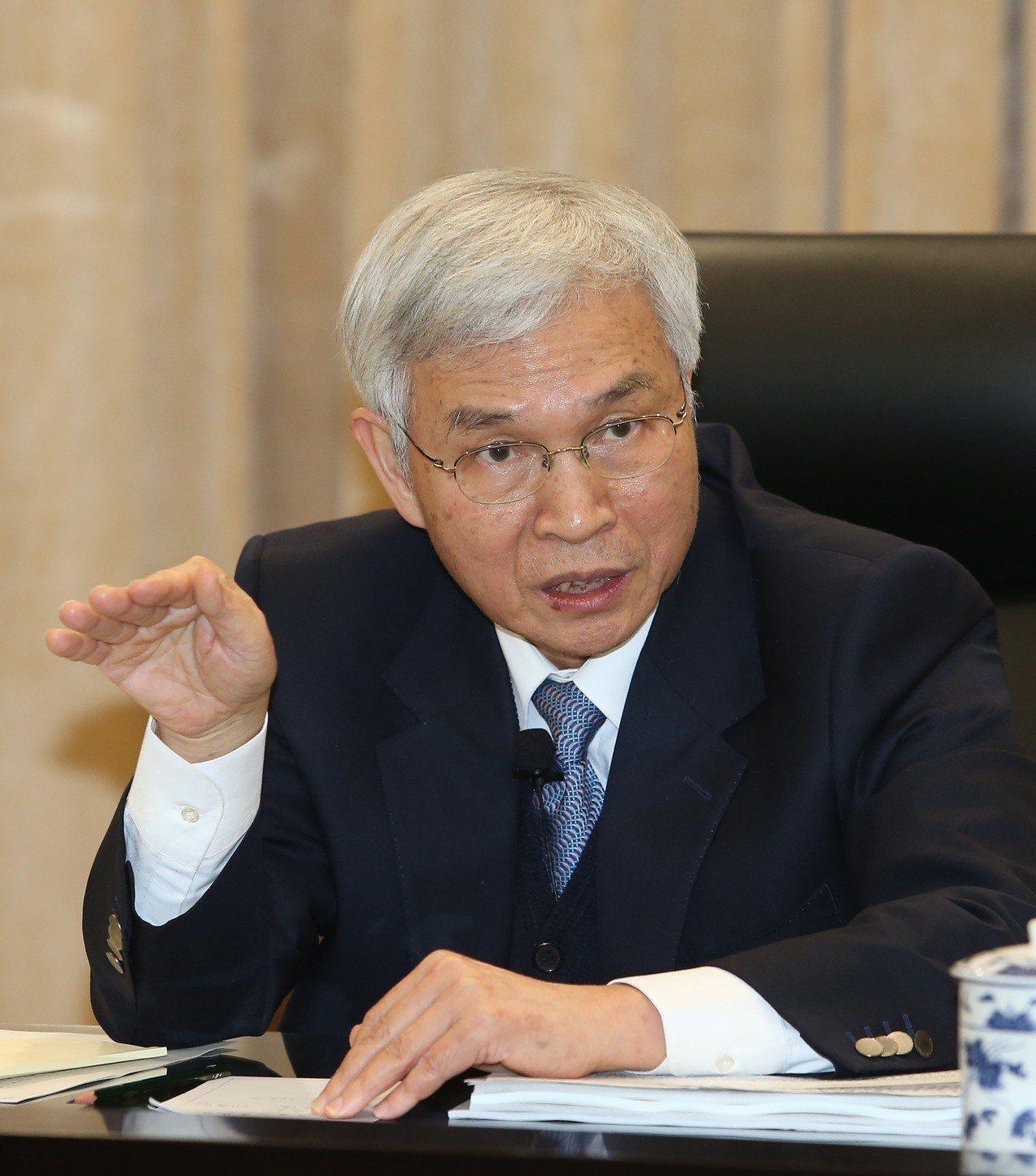 中央銀行總裁楊金龍。記者曾吉松/攝影