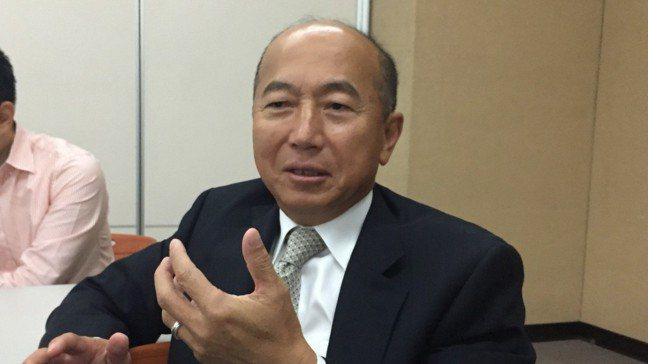 安成藥董事長陳志明。 報系資料照