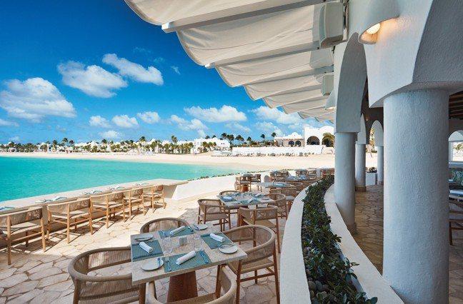 Belmond Cap Juluca將加勒比海美景盡收眼底。(Belmond提供...