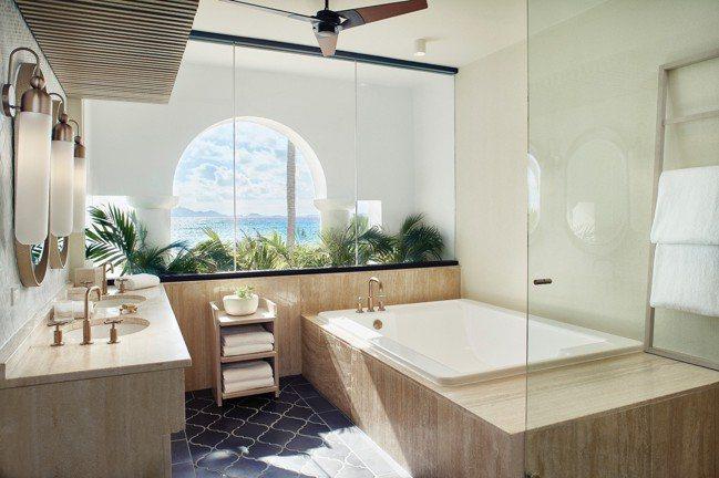 Belmond Cap Juluca房內即可觀賞加勒比海美景。(Belmond提...